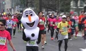 Maratona de Tóquio reúne 28 mil corredores