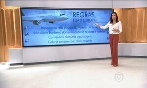 Aéreas da Europa devem adotar medidas de segurança mais rigorosas