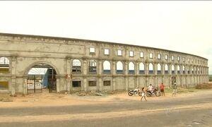 Estádio construído no Ceará nunca foi usado porque cidade não tem time