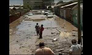 Sobe para 17 o número de mortos nas enchentes no Atacama, no Chile