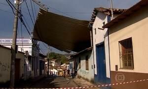 Chuva causa estragos na Região Metropolitana  de Belo Horizonte