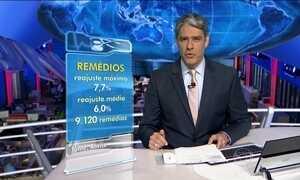 Governo autoriza reajuste no preço dos remédios de até 7,7%
