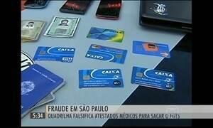 Polícia Federal investiga fraude para sacar o FGTS no interior de SP