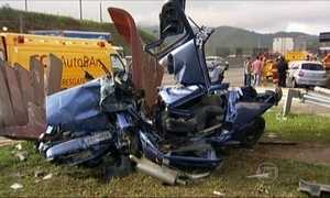 Trecho da rodovia Anhanguera é interditado por causa de acidente