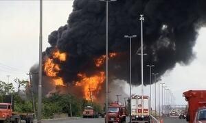 Complexo petroquímico em Santos pega fogo há mais de 100 horas