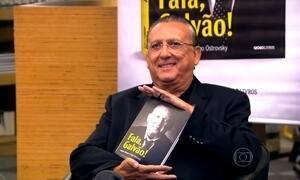 Galvão Bueno lança livro que conta as memórias da carreira