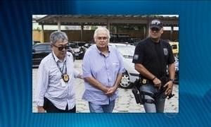 Pedro Corrêa é levado para carceragem da PF no Paraná