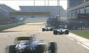 Nasr e Massa mostram o que têm de melhor no GP da China