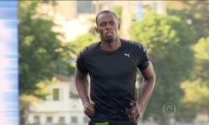 Desafio 'Bolt Contra o Tempo' tem o homem mais veloz do mundo no Rio