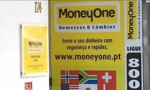 Suspeita de lavagem de dinheiro fecha casas de câmbio em Portugal