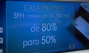 Caixa Econômica aumenta entrada para comprar a casa própria