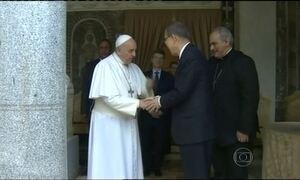 Papa Francisco defende o combate ao aquecimento global