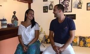 Casal abre pousada na Bahia e troca estresse por vida tranquila à beira-mar