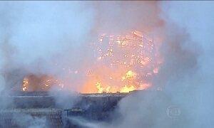 Incêndio atinge lojas em região de comércio popular no centro do Rio