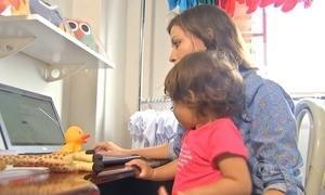 Mães criam alternativas para trabalhar em casa depois que os filhos nascem
