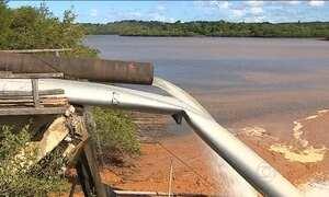 Tubulação se rompe e deixa 1 milhão de pessoas sem água no SE