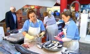 Peixeiras são símbolo das mulheres de Portugal