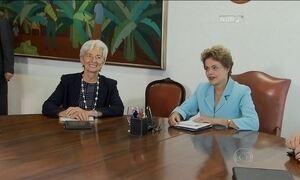 Diretora do FMI defende ajuste fiscal em encontro com ministro da Fazenda
