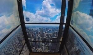 Observatório do WTC a 380 metros de altura é aberto à imprensa em NY