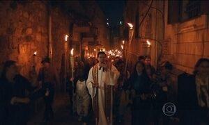 Cerimônia de Pentecostes reúne mais de 500 brasileiros em Jerusalém