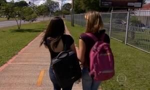 Estudantes viram alvo de bandidos na porta das escolas em Brasília