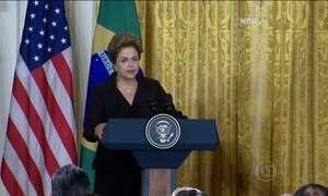 Presidente Dilma afirma que não vai demitir ministros citados em delação