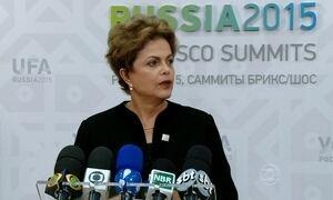 Dilma diz que Brics continuarão a impulsionar o desenvolvimento global