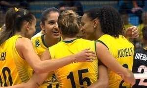 Seleção Feminina vence a Bélgica pelo Grand Prix