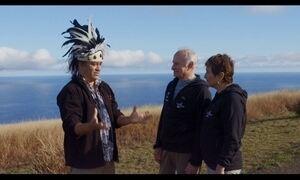 Família Schurmann chega à Ilha de Páscoa com a Expedição Oriente