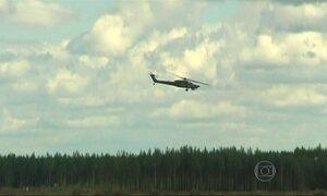 Show aéreo na Rússia termina com desastre