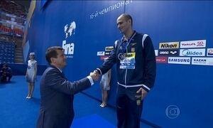 Brasil conquista medalha de prata na Rússia