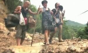 Tufão na China mata 12 pessoas e deixa cinco desaparecidas