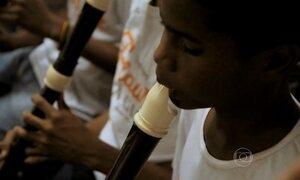 Projeto Flauta Mágica já atendeu mais de 3 mil crianças em MT