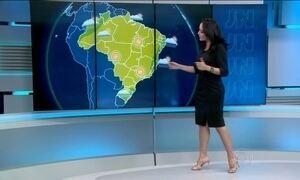 Previsão é de chuva do litoral da Bahia até o Rio Grande do Norte