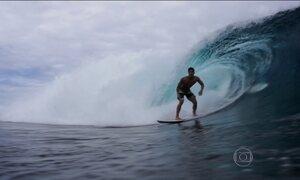 Brasileiros duelam em mais uma etapa da Liga Mundial de Surfe