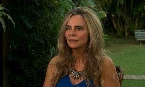 Bruna Lombardi revela que tem fotos mais picantes tiradas pelo marido