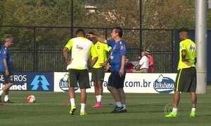 Seleção brasileira se prepara para amistosos nos Estados Unidos