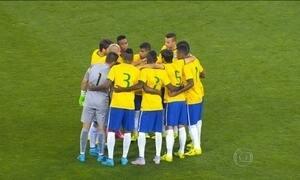 Seleção olímpica de futebol sub-23 perde para a França