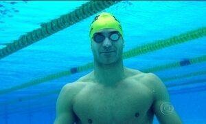 Atleta brasileiro veterano é destaque do Desafio Raia Rápida de Natação