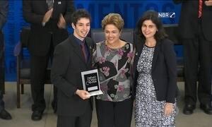 Cinco ideias inovadoras recebem o Prêmio Jovem Cientista em Brasília