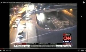 Terremoto forte atinge o Chile; alerta de tsunami foi emitido em três regiões