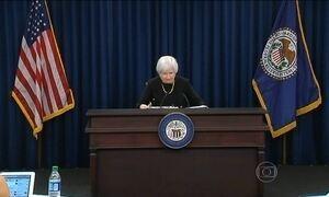 Banco Central dos EUA decide não alterar a taxa básica de juros