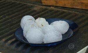 Chuva de granizo danifica milhares de casas no sul do Brasil