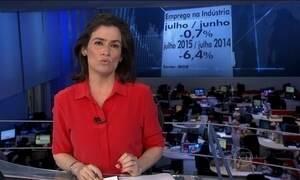 Número de trabalhadores na indústria cai pelo sétimo mês seguido