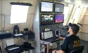 Rotas de tráfico internacional são monitoradas dia e noite no Norte