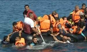 Bote com imigrantes bate em balsa e deixa ao menos 13 imigrantes mortos na Turquia