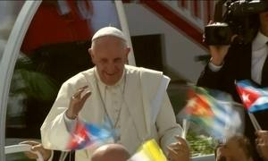 Papa Francisco deixa mensagem de coragem Holguín, em Cuba