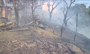 Falta de chuva provoca recorde de queimadas na área urbana de Manaus