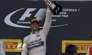 Lewis Hamilton vence o GP do Japão