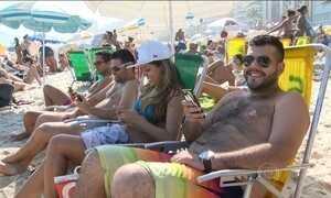 Barracas de praia oferecem Wi-Fi para clientes no Rio de Janeiro